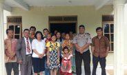 Anggota Polsek Karang Bintang Polres Tanah Bumbu Melaksanakan Pengamanan Giat Ibadah di Gereja GKE