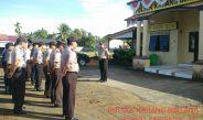 Anggota Polsek Durenan laksanakan Apel Pagi Untuk Tingkatkan Disiplin Anggota